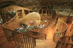 Creative Thailand Ecological for Children Center Contemporary Design #Thailand