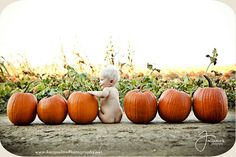 Puts a whole new meaning to calling max my pumpkin butt, I am SO taking this pic… - BABY PICTURES Fall Baby Pictures, Fall Family Photos, Holiday Pictures, Fall Pics, Fall Baby Pics, Baby Monthly Pictures, Baby Pumpkin Pictures, Outdoor Baby Pictures, Pumpkin Pics