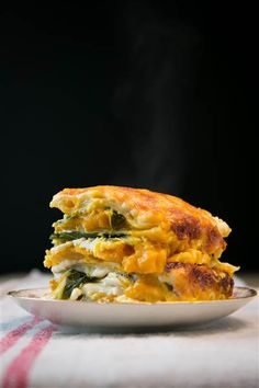 Lasagna with Pumpkin and Sage Infused Béchamel