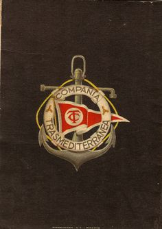 CÍA. TRASMEDITERRÁNEA, escudo 1916