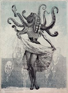 "octopus - ""Charms"" by jason cantoro. LOVE THISSSS"