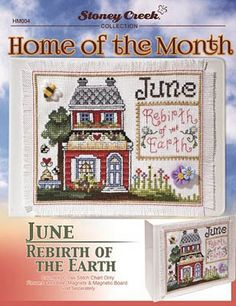 Home Of The Month - June - Cross Stitch Pattern