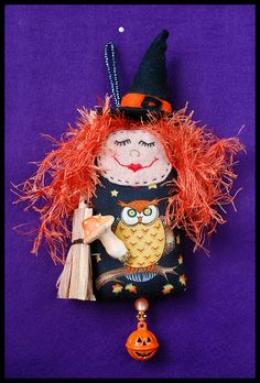 witch dotee doll 2 by isabellrath, via Flickr