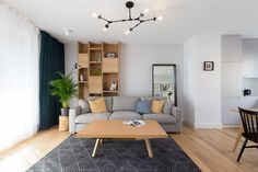 Browar Lubicz - Salon, styl nowoczesny - zdjęcie od Miliform modern living room | inspiration | home | minimalism