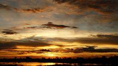 Sunset -- Botswana Sky