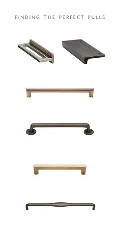 Rocky Mountain Hardware cabinet pulls:  - see which ones Coco + Kelley chose for their kitchen!