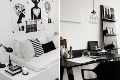   Todas las claves para decorar en blanco y negro