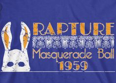 Bioshock: Rapture Masquerade Ball Tee by TheSlothBrain on Etsy