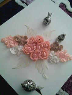 Giant Flowers, Felt Flowers, Fabric Flowers, Felt Crafts, Diy And Crafts, Deco Table, Diy Pillows, Felt Art, Table Toppers