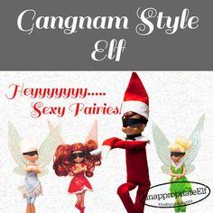 Gangnam Style Elf #InappropriateElf BabyRabies.com
