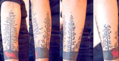 deer tree tattoo - Google Search