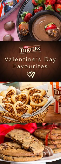 Explore & Indulge .Do you believe in love at first bite? Find the perfect Valentine's Day treat for that special someone with these tantalizing TURTLES recipes!