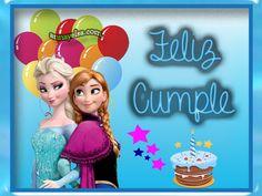 Imagenes de Frozen Cumpleaños - Imagenes Elsa y Anna Cumpleaños - Feliz Cumpleaños Frozen