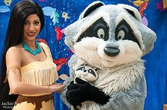 All sizes | Pocahontas, & Meeko | Flickr - Photo Sharing!
