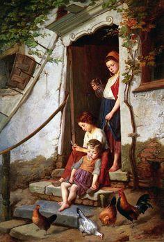 Théodore Gérard (1829 – 1895) – Pintor Belga_21