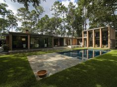 Midcentury Meets Taxidermy in This Voguish Houston Home - House of the Day - Curbed National