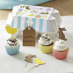 Cupcake kit in Egg Carton