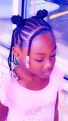 Black Kids Braids Hairstyles, Little Girls Natural Hairstyles, Toddler Braided Hairstyles, Cute Little Girl Hairstyles, Little Girl Braids, Baby Girl Hairstyles, Kids Braided Hairstyles, Black Children Hairstyles, Braids For Black Kids