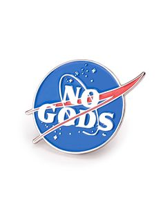 pins, accessories jewelery No Gods Pin