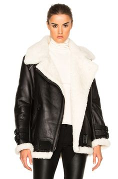 Shop for Acne Studios Velocite Jacket in Black & Off White at FWRD. Free 2 day shipping and returns.