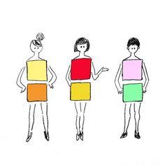 ブルボンのキュービィロップ、二色の差があるものが特に好きでした!懐かしい。  #illustration #fashionillustration #drawing #飴