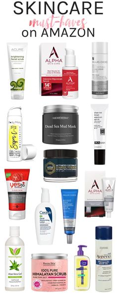 Best Skincare Products on Amazon you haven't tried yet! Whether you are dealing with acne, dark spots or wrinkles, these affordable skincare saviors are guaranteed to help!