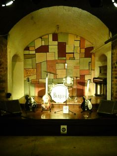 Reproduction of fist Beatles's stage.
