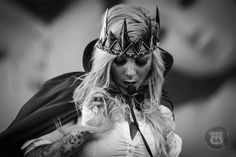 Maria Brink of In This Moment - Photo by Rob Fenn