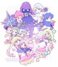 Cute, anime, sailor moon, kawii