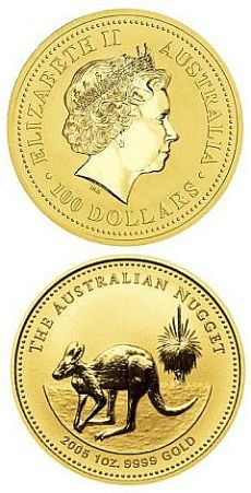 Australian Gold Nugget Bullion Coin - Obverse and Reverse sides Gold Krugerrand, Gold And Silver Coins, Bullion Coins, Silver Bullion, Gold Price Chart, Australia Kangaroo, Gold Aesthetic, Australian Animals, Silver Prices