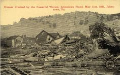 The Johnstown Flood occurred on May 31, 1889. It was the result of the catastrophic failure of the South Fork Dam situated on the Little Conemaugh River 14 miles upstream of the town of Johnstown, Pennsylvania, USA, made worse by several days of extremely heavy rainfall. The dam's failure unleashed a torrent of 20 million tons of water from the reservoir known as Lake Conemaugh. The flood killed 2,209 people.