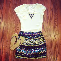 Bluetique Cheap Chic » a fun and affordable boutique! This is such a cute outfit
