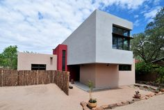 The Shoebox House, #LEED Platinum, Sante Fe, New Mexico by architect and builder Gabe Brown, Praxis Design/Build