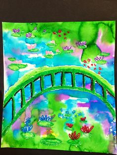 My first graders are studying Claude Monet right now! First we watched a cute video (below) to learn about the artist Then we drew the gar...