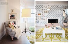 love the mix of patterns!