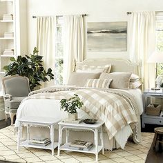 Classic buffalo check in a fresh modern palette. The Gwyneth Duvet Cover layers effortlessly with our Edith Vine, Jardin Toile and Audree Pom Pom Bedding.