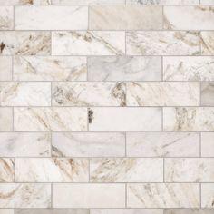 Brick Discover Bianco Orion Marble Tile - 4 x 12 - 100464858 Bianco Orion Marble Tile Stone Tile Flooring, Stone Backsplash, Kitchen Flooring, Kitchen Tile, Backsplash Ideas, Tile Ideas, Kitchen Redo, Kitchen Cabinets, Country Kitchen Backsplash
