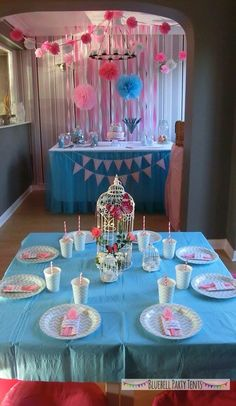 My daughter's 13th birthday party
