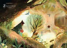 [繪本] Le petit loup rouge 小紅狼--Amélie Fléchais   POHÁDkaka