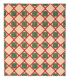 Mistletoe and Holly Berries Quilt Pattern Download