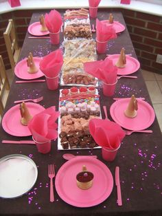 Pink & Chocolate Party