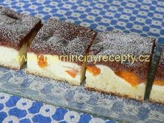 Brownie brownies s tvarohem Brownies, Tiramisu, Sweet Tooth, Cheesecake, Food And Drink, Sweets, Baking, Ethnic Recipes, Desserts