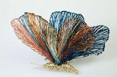 #Artewelry #Art Brooch #Butterfly brooch #ButterflyJewelry #Wire butterflies #Creative jewelry #Wearableart jewelry #Unique brooch #Bigbrooch.  €160.00 EUR