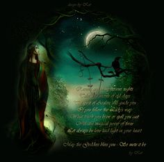 Celtic Witch | celtic witch 2 myspace layout fantasy series witch girl click to see ...