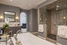 2015 master bathroom trends | Recent bath remodeling project by Remodel Works .