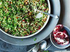 Tabbouleh med granateple og persille