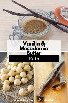 I'm using macadamia in this Vanilla butter recipe for its health benefits low net carb count and absolutely delicious taste. I'm using macadamia in this Vanilla butter recipe for its health benefits low net carb count and absolutely delicious taste. Great Recipes, Snack Recipes, Dessert Recipes, Keto Recipes, Amazing Recipes, Dessert Ideas, Breakfast Recipes, Dinner Recipes, Healthy Recipes