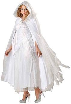PartyBell.com - Ghostly White Cape