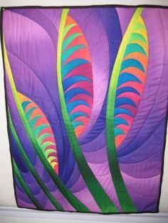 Feather Study  Caryl Bryer Fallert