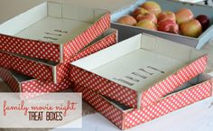 Treat Boxes for Family Movie Night...or anytime!! SUPER easy and so fun!  {simplykierste.com}